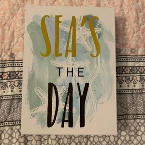 🌵Sea's the Day Box Sign